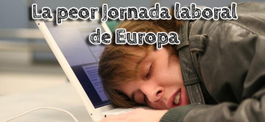 Jornada laboral española: mal horario, poco productiva y mal pagada