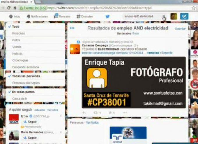 Video tutorial: ¿Cómo buscar ofertas de empleo en twitter?