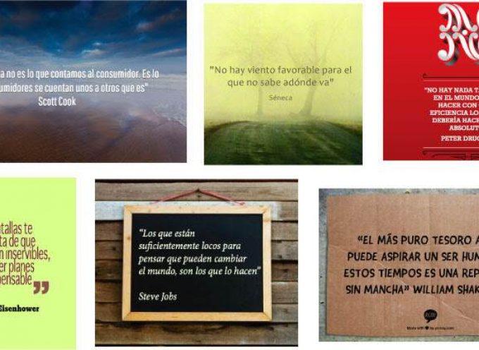 6 Herramientas para crear imágenes con frases sin ser diseñador