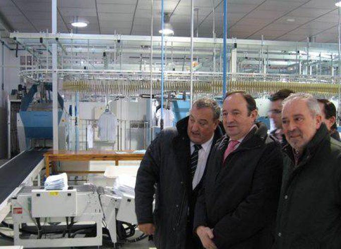 Indusal ampliará su plantilla en La Rioja hasta los 100 trabajadores