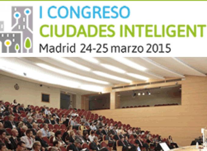 I Congreso Ciudades Inteligentes – 24 y 25 de marzo en Madrid.
