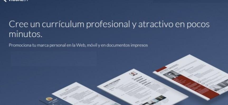 VisualCV ahora en español, para crear nuevo CV desde Internet