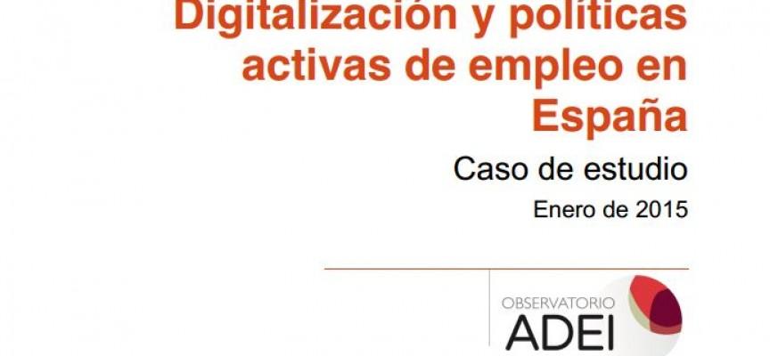 """ADEI presenta el estudio """"Digitalización y políticas activas de empleo en España"""""""