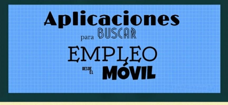 Infografia: Aplicaciones para buscar empleo desde el móvil