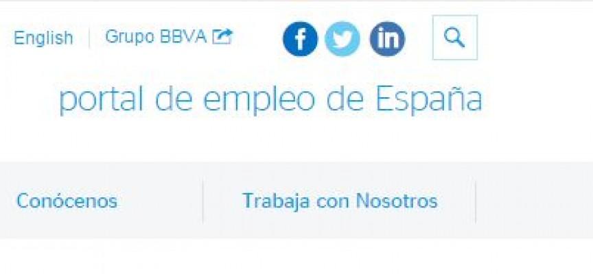 BBVA publica ofertas de trabajo y prácticas en España y más de 600 empleos internacionales