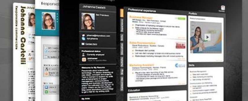 17 herramientas para crear un curriculum digital