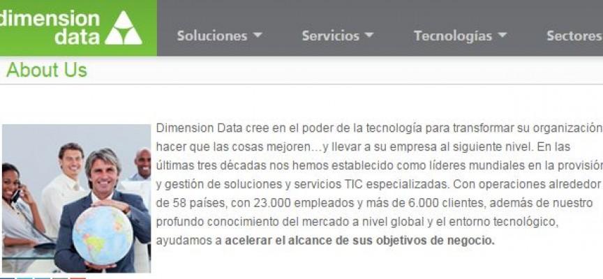 Dimension Data lanza más de 500 empleos en todo el mundo
