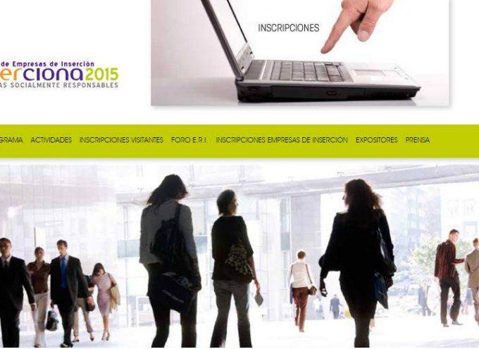 """200 empresas de inserción en la """"Feria Inserciona 2015″ – 18 y 19 de febrero – Zaragoza"""