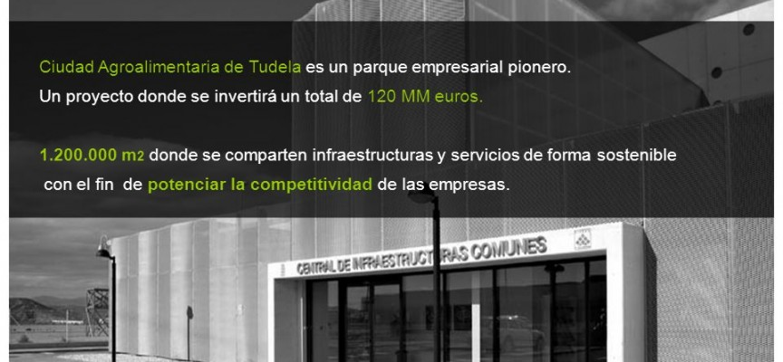 Oportunidades de empleo en la Ciudad Agroalimentaria de Tudela.