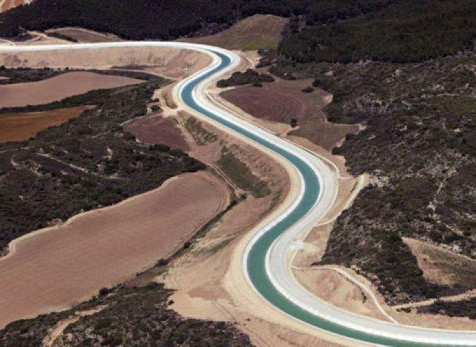 400 empleos en la ampliación del Canal de Navarra