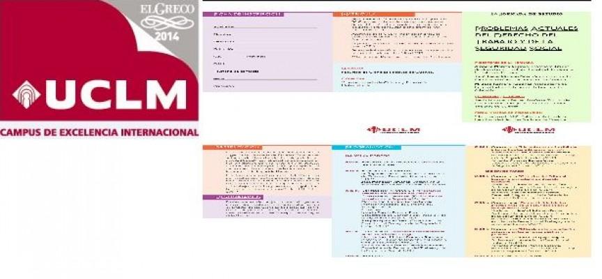 """1ª Jornada de Estudio """"Problemas actuales del Derecho del Trabajo y de la Seguridad Social"""". Cuenca 20/03/2015"""