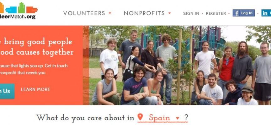 Una plataforma que conecta voluntariados de todo el Mundo