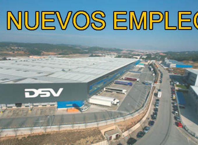 DSV abrirá dos centros logísticos y creará 60 nuevos empleos.