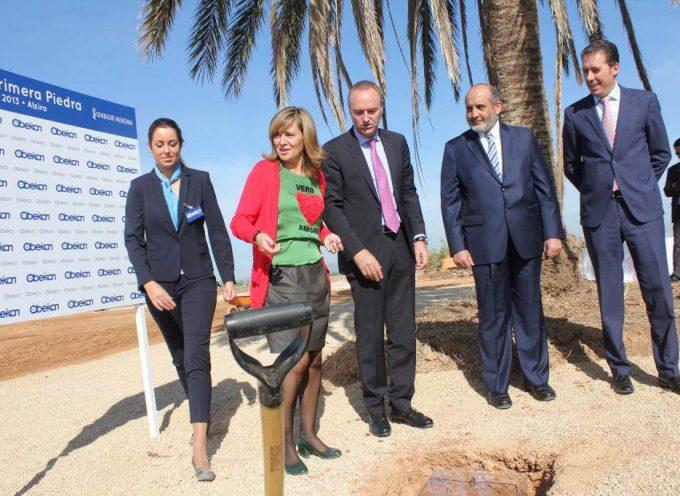 100 empleos en la nueva planta de Obeikan de Alzira. Se reinician las obras.