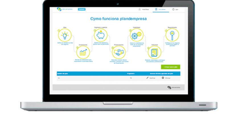 Plandempresa rediseña su App: desarrolla planes de empresa más fácilmente