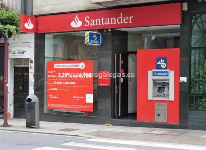 200 Prácticas remuneradas de 6 meses en Servicios Centrales y Áreas Corporativas del Santander