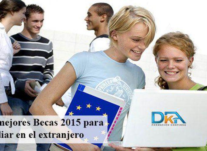 Becas destinadas a estudiantes de grado para estudiar un semestre en el Extranjero