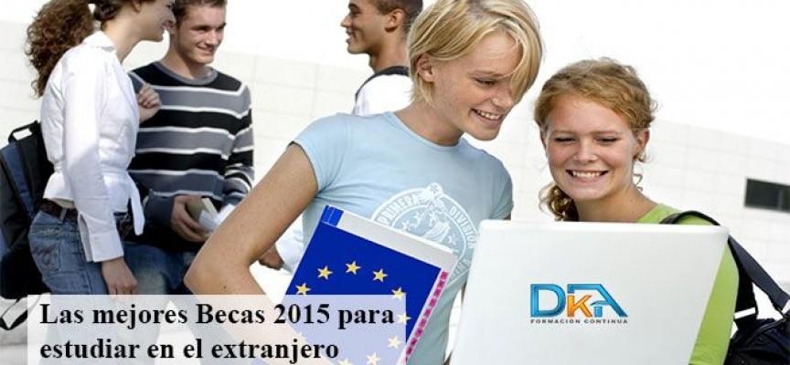 Becas destinadas a estudiantes de grado para estudiar un semestre en el Extranjero. Hasta el 31mayo2015