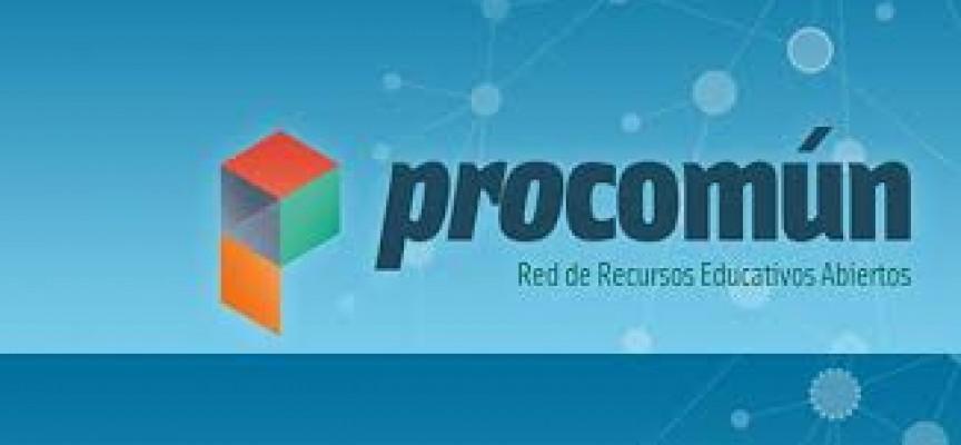 PROCOMUN RED DE RECURSOS EDUCATIVOS EN ABIERTO