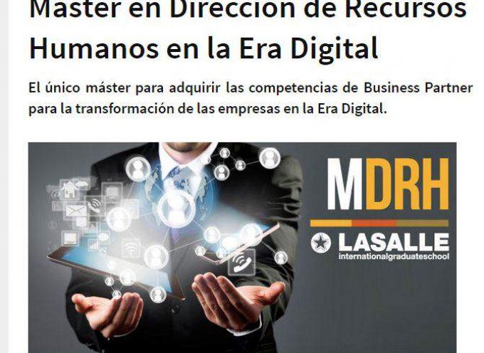 Máster en Dirección de Recursos Humanos en la Era Digital