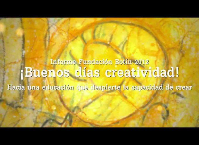 Creatividad – Hacia una educación que despierte la capacidad de crear
