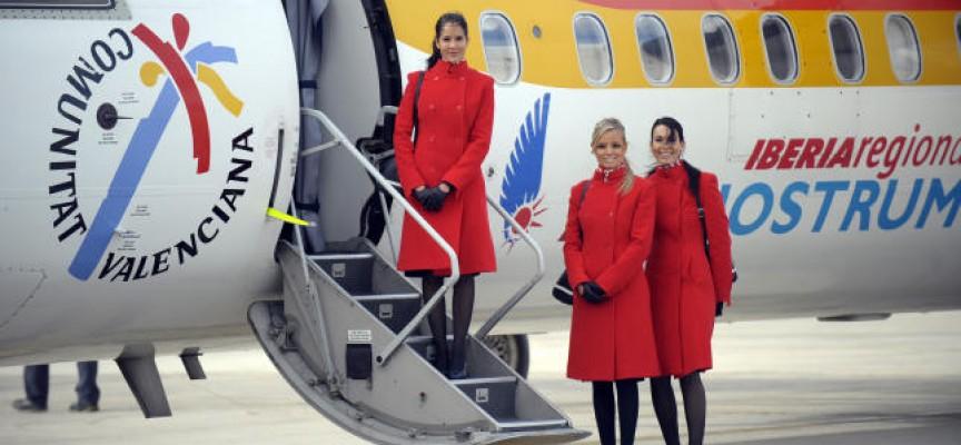 Air Nostrum busca en Madrid y Menorca tripulantes de cabina de pasajeros