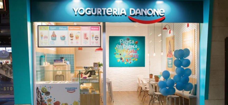 Danone abrirá en dos años 15 nuevos establecimientos de yogurt helado en España