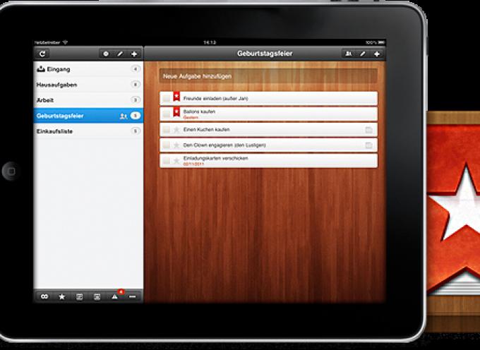 Wunderlist. App de listas colaborativas multimedia con chat sin facilitar nº de teléfono