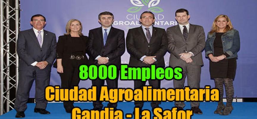 8.000 empleos en la futura Ciudad Agroalimentaria Gandia-La Safor.