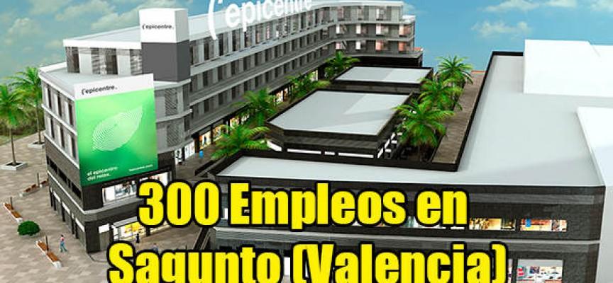El nuevo centro comercial de Sagunto creará 300 empleos a partir de septiembre