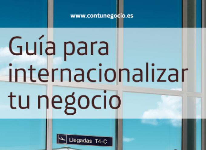 """Ebook gratuito """"Guía para internacionalizar tu negocio"""""""