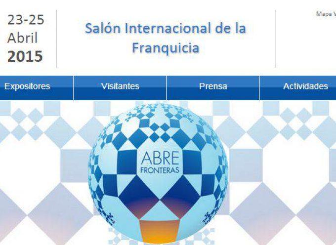 EXPOFRANQUICIA 2015, el gran salón español de la franquicia. 23 al 25 de abril
