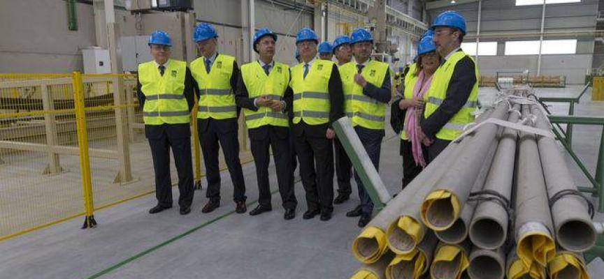 Tubacex creará 100 empleos en su nueva planta de Cantabria.