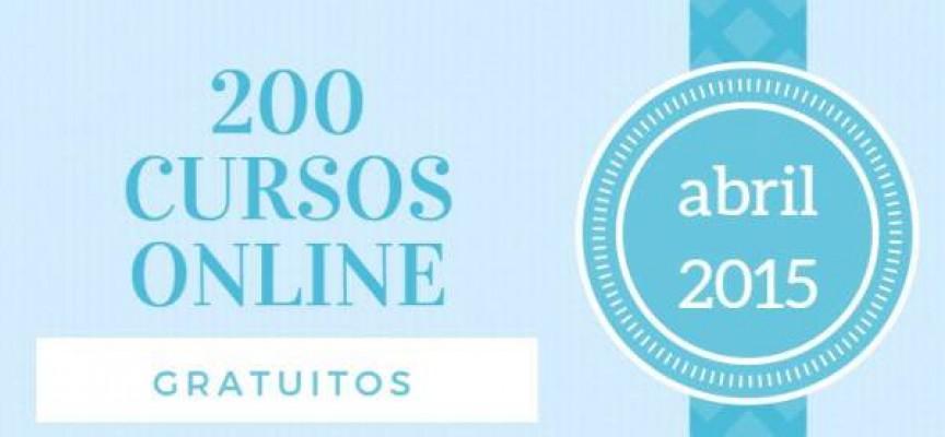 200 cursos online y gratuitos para iniciar en abril