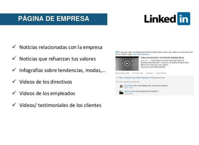 LinkedIn para empresas (excelente recursos para emprendedores y empresas)
