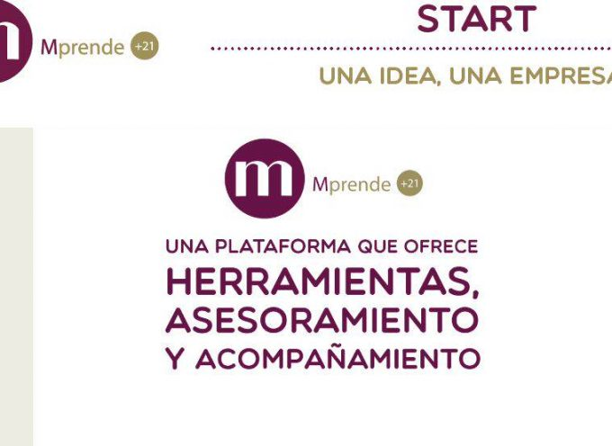 Mprende+21. Plataforma de apoyo al emprendimiento de mujeres