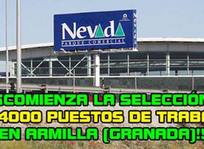4.000 empleos en el C.C. Nevada. ¡¡Comienza la recogida de solicitudes!!.