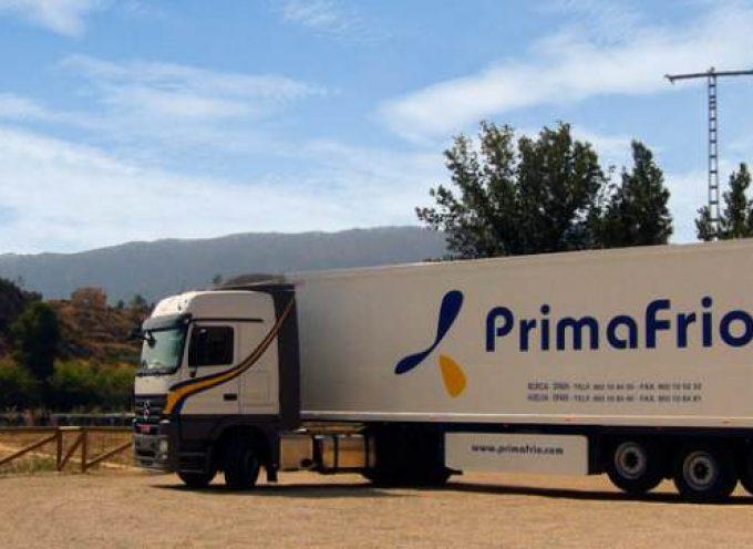Primafrio creará más de 100 empleos en Murcia. 550 puestos de trabajo en 9 proyectos.