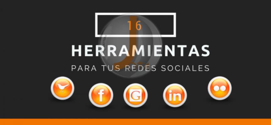 6 herramientas para tus Redes Sociales
