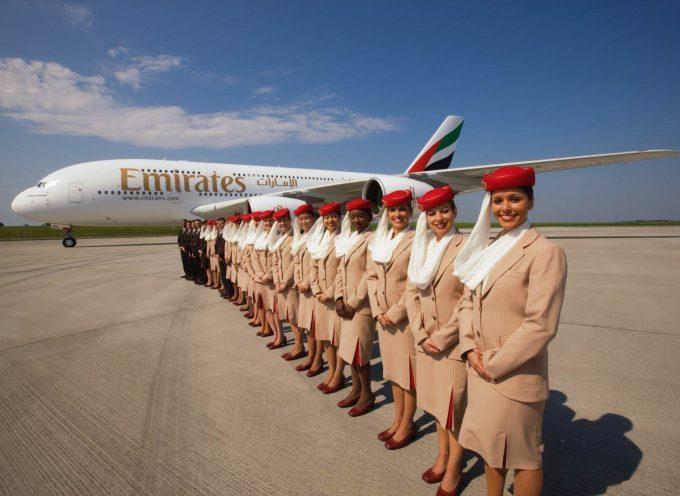 Emirates busca tripulantes de cabina en Granada, Madrid y Barcelona