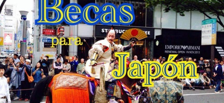 BECAS MONBUKAGAKUSHO DEL GOBIERNO DE JAPÓN. Hasta el viernes 29 de mayo.