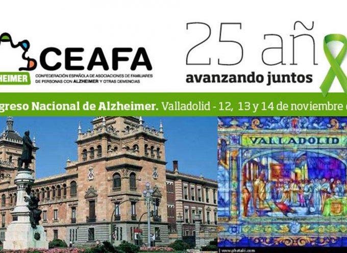 VI Congreso Nacional de Alzheimer – Valladolid, 12, 13 y 14 de noviembre