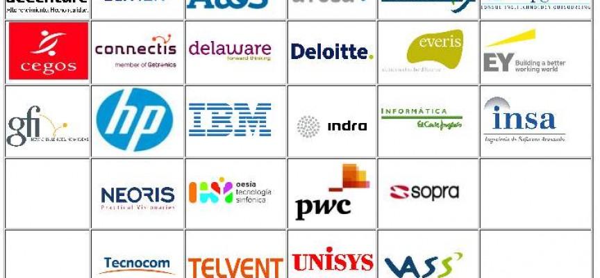 Más de 7.000 ofertas de trabajo en las 26 consultoras españolas.