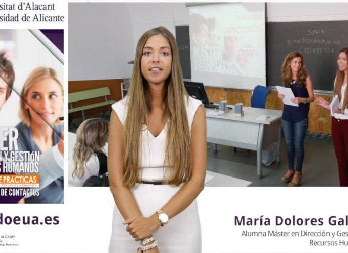 """""""Máster en Dirección y Gestión de Recursos Humanos"""" de la Universidad de Alicante"""