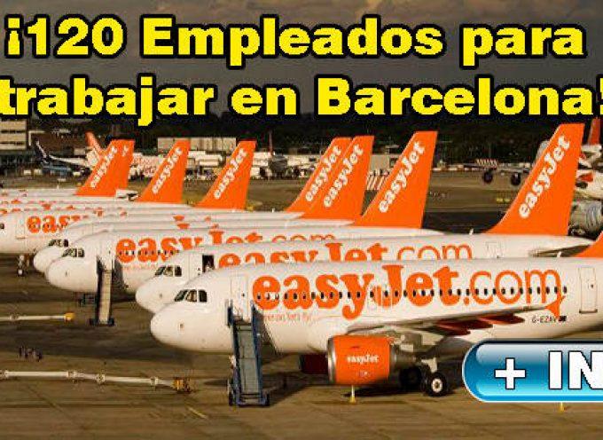Easyjet creará más de 100 puestos de trabajo en su nueva base de Barcelona.