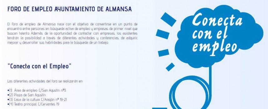"""Foro de Empleo Ayto. de Almansa. """"Conecta con el Empleo"""". Jueves 25 de junio de 2015. #ForoEmpleoAlmansa"""