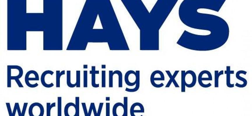 Hays publica 473 ofertas de trabajo activas por áreas de especialización.