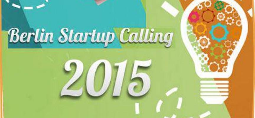 BECA BERLIN STARTUP CALLING 2015 – Hasta el 20 de septiembre