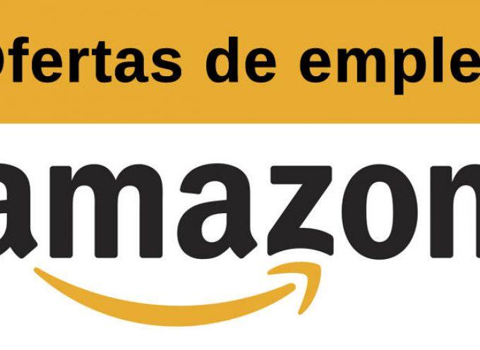 Amazon selecciona 600 personas para sus centros logísticos. ¡¡Apúntate!!