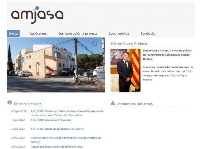 Aguas Municipales de Jávea abre 3 bolsas de empleo para administrativo, fontanero y lector. (6 de julio)